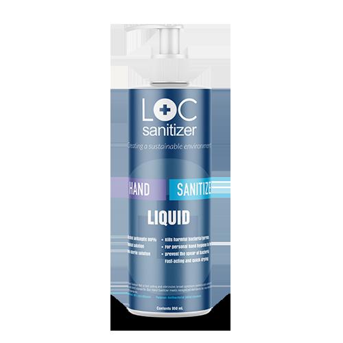 LOC Sanitizer liquid 950ml refill